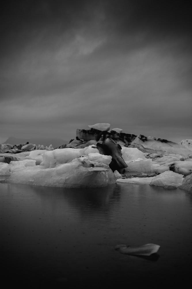 Iceberg. Iceland