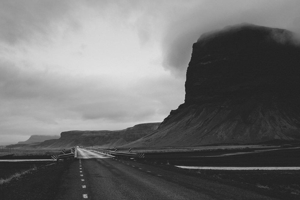 Long way. Iceland