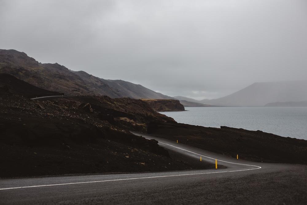 Turn. Iceland