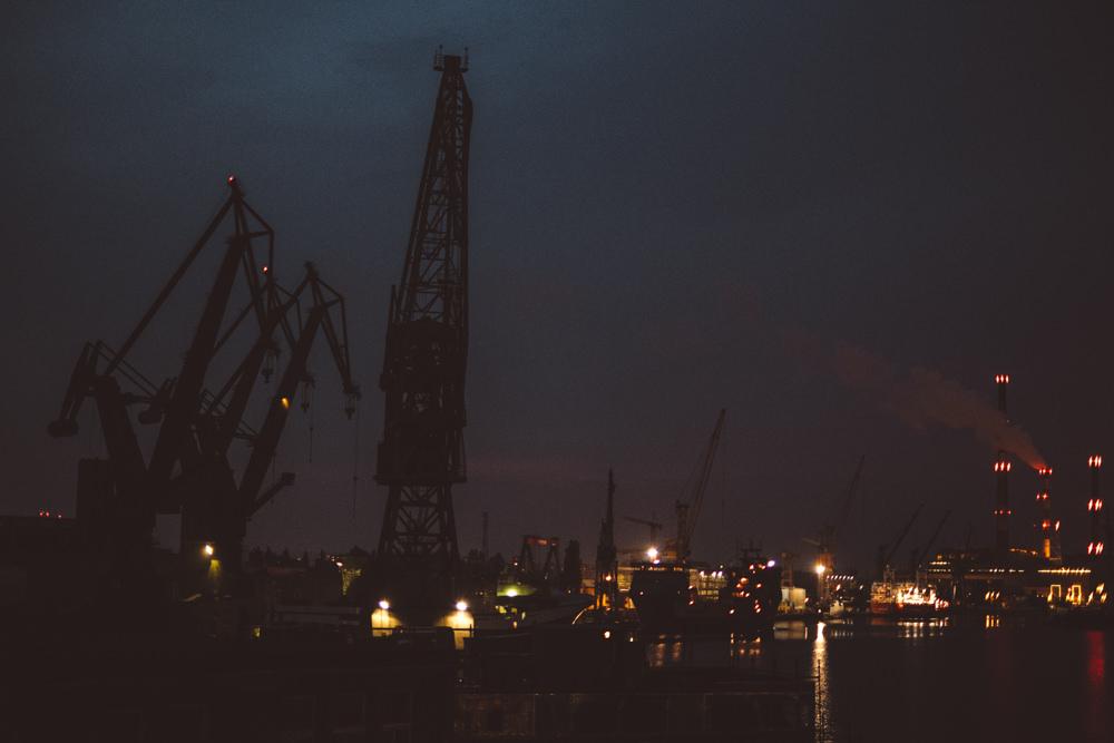 Industrialny ślub w stoczni Gdańskiej