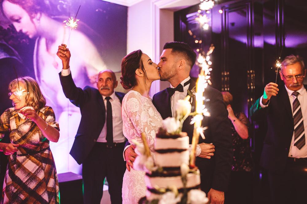 elegancki ślub w restauracji l'entre villes