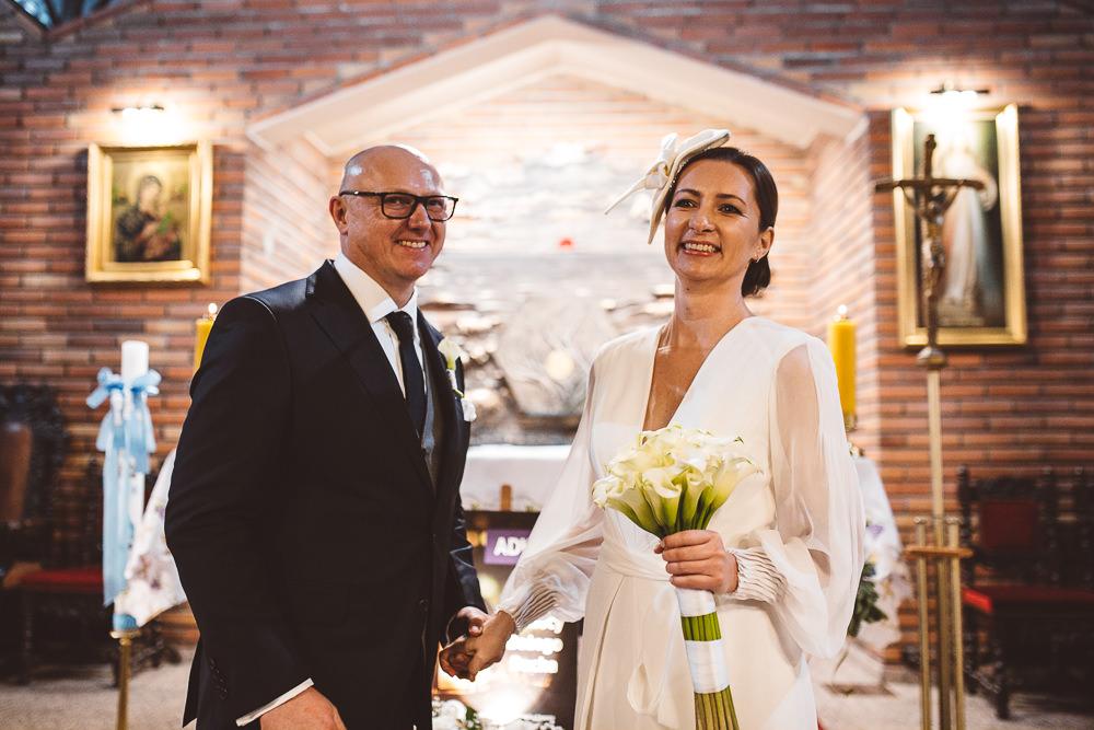 zimowy ślub w Sopocie