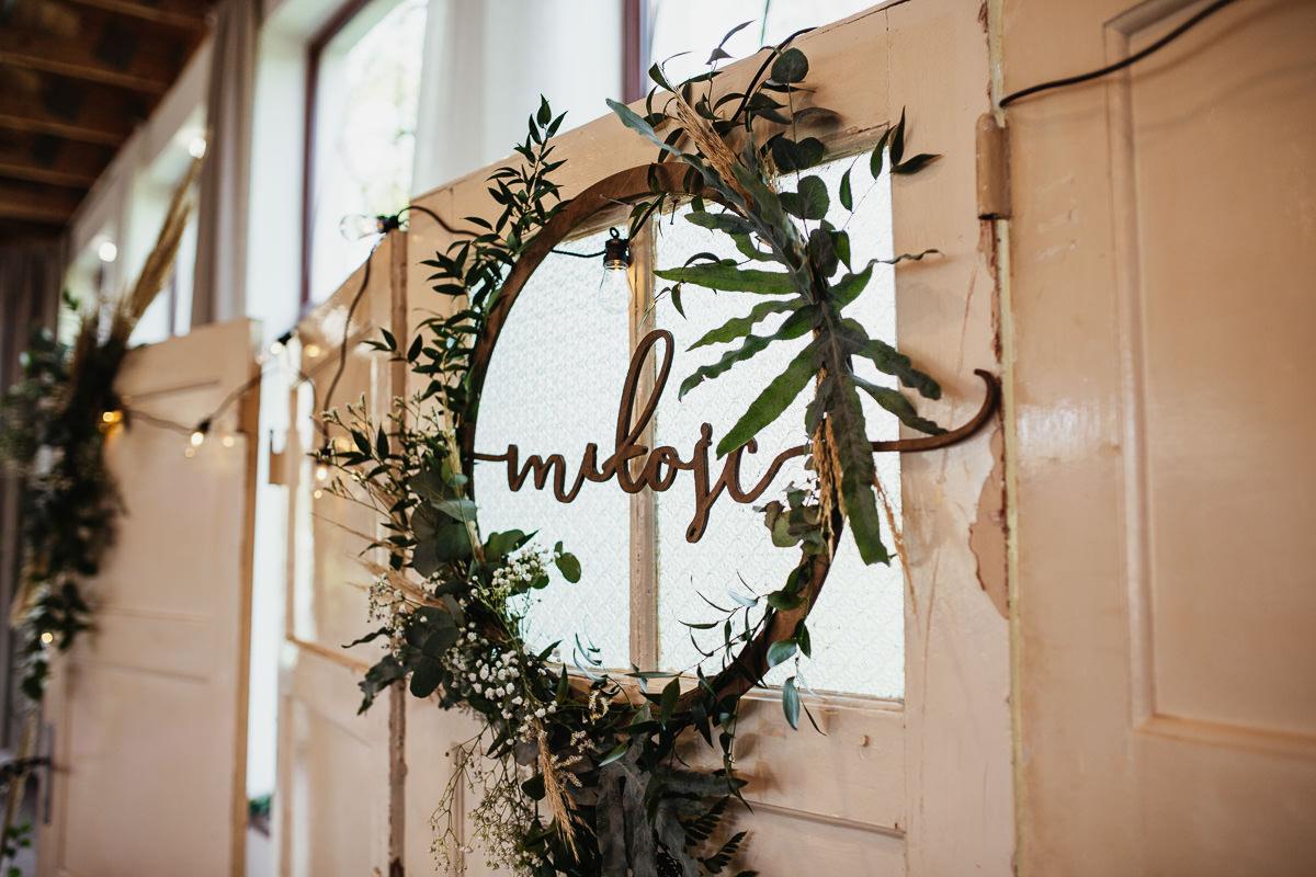 rustykalne wesele w zielonej bramie 069 1
