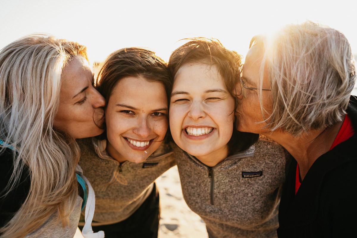 kobieca sesja pokoleniowa